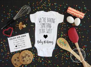 Onesie Pregnancy Announcement Digital File
