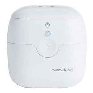 Portable pacifier sterilizer