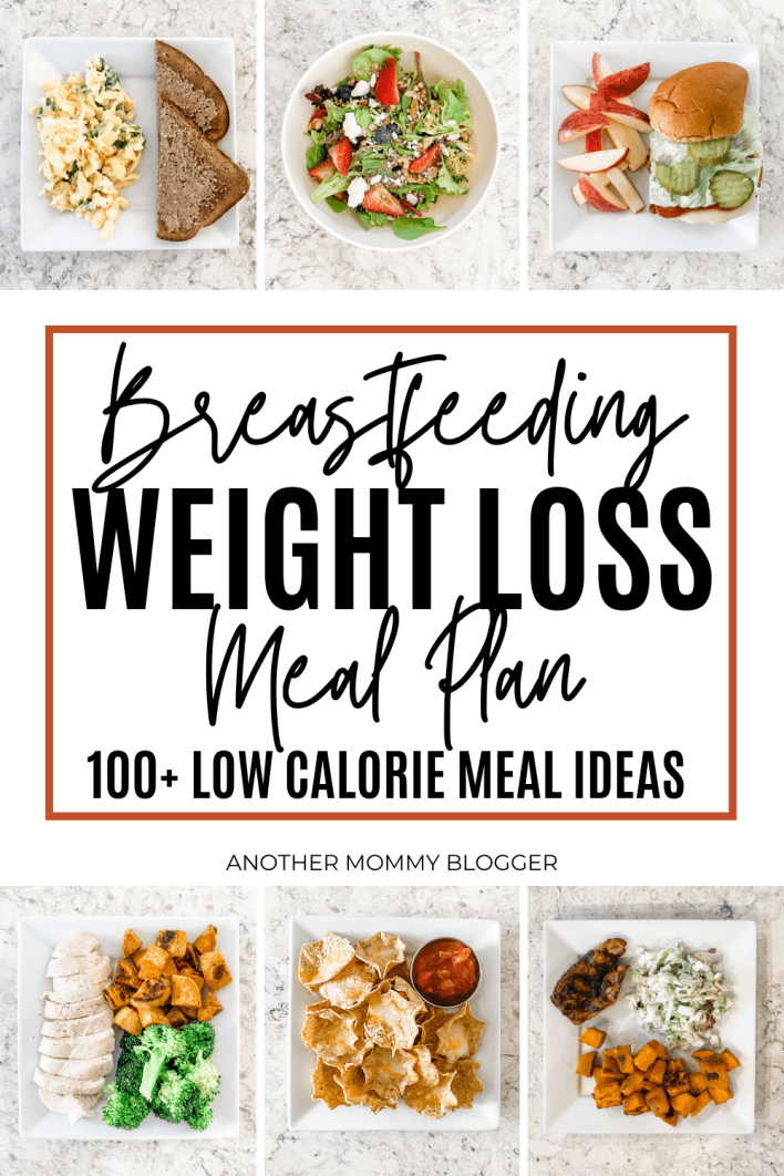 This is my breastfeeding diet to lose weight. These are meal ideas for weight loss while breastfeeding.