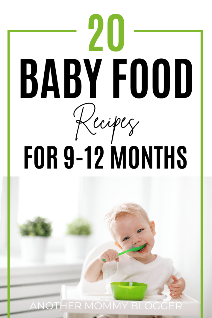 Baby food meal ideas for one year old. Try these baby food recipes 9-12 months. These are easy healthy meal ideas for babies.