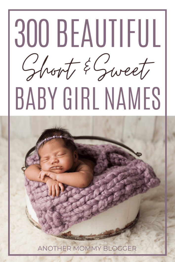Need ideas for beautiful unique girl names? This baby girl names list is full of sweet and short girl names with meaning. On this list you'll find cute 2-4 letter baby girl names. This list has all the one syllable girl names and two syllable names for girls you could ever ask for.