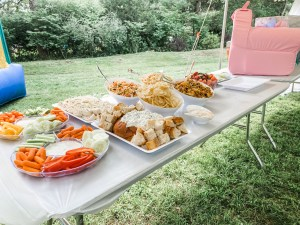 First birthday party food ideas