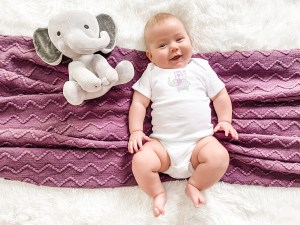 4 months baby photoshoot ideas