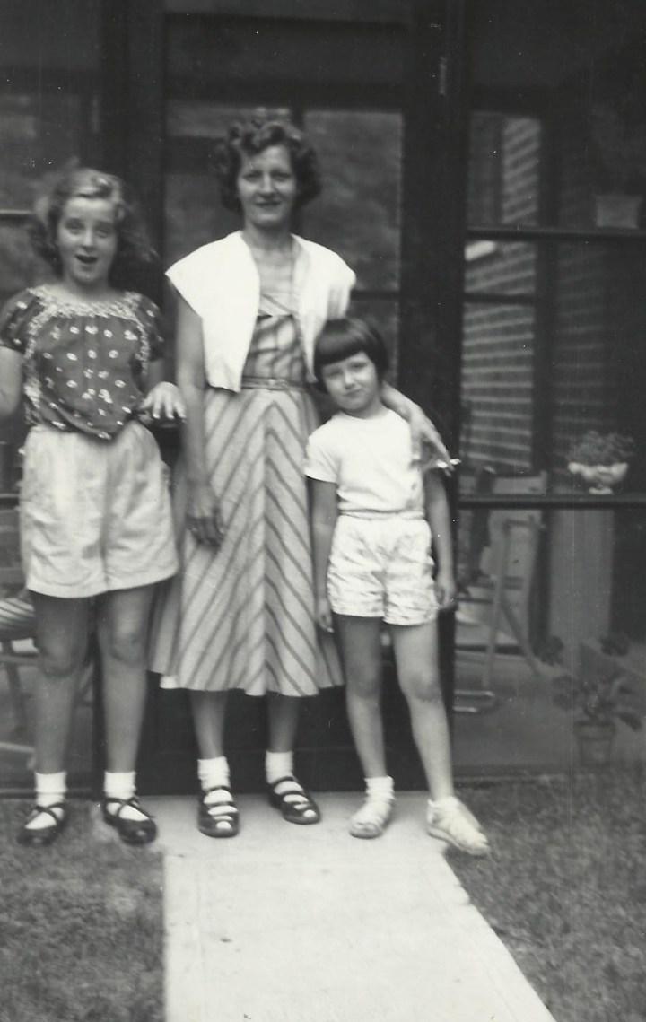 Grandma Fey and the girls