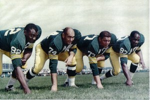 Packer defensive line