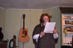 Our hostess Paula read a great poem written by her young daughter Olivia.