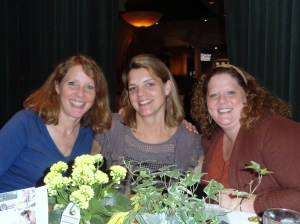 This is me with my sisters Kathy and Jenny. I spent National Siblings day in the hospital with Kathy, the middle sister. She has been diagnosed with Her2 breast cancer.