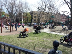 The enchanted stroller park