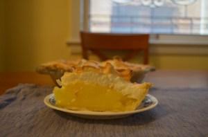 Lemon Meringue pie for breakfast!