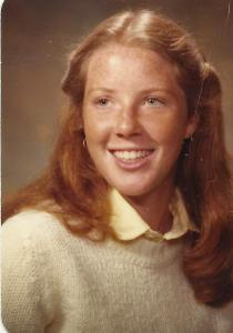 Check out the eye lashes on this senior picture -- mascara on the right, naked on the left.