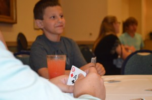 ...Chip's perspective of te same euchre game.