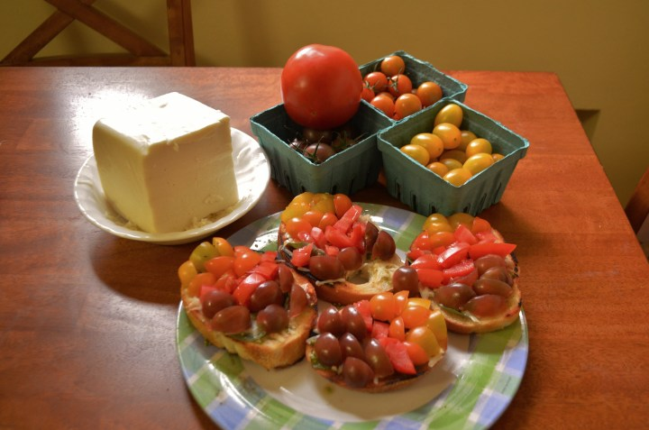 Tomatoes taste of Summer (A post by Molly)