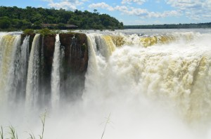 NO post about Iguazu Falls would be complete without a shot of Devil's Throat, the pounding falls that straddles Brazil and Argentina.