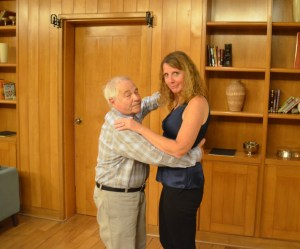 I may find a taller tango partner some day, but I'll never dance with a more charming guy than Norton, my new friend from Brooklynville, New York.