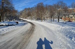 Frozen Walk Katherine and Me