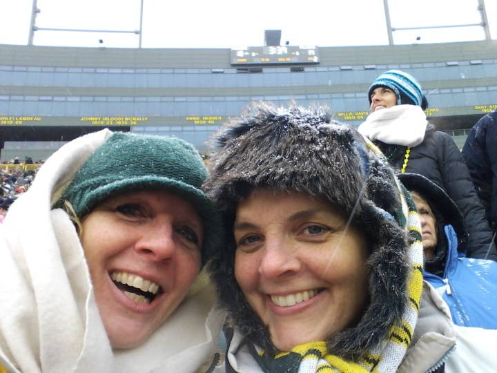 Happy birthday eve Kathy, we'll see you at Lambeau!
