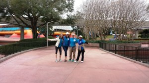 Epcot triumphant group