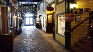 I found lots of treasures at Gaslight Square, a 1920s style thankfully indoor mall.