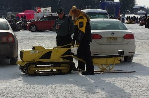 Tractor snowmobile
