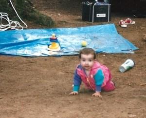Mari @ 15 months Camping