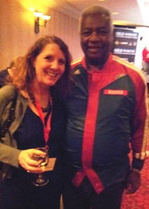 Laura and Oscar Robertson