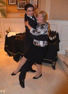 Mom and the tango dancer