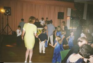 Nancy's wedding dance floor