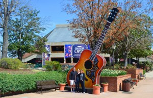 Grand old opry guitar pic