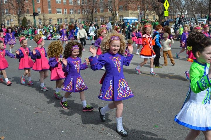 Our Irish eyes were smiling (and our Polish ones were too) at the Southside Irish Parade