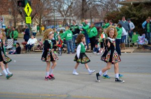Southside Irish dancer flag