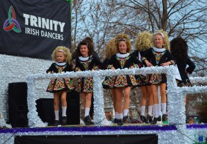 Southside Irish dancer float