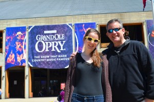 Vince and Molly Grand ole opry