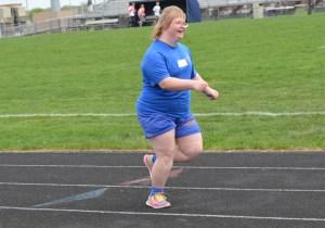 Happy runner