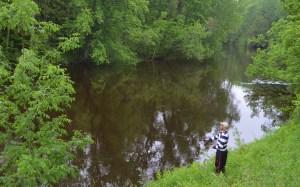 Ryan fly fishing