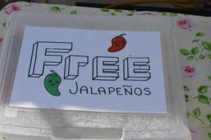 Free jalapenos