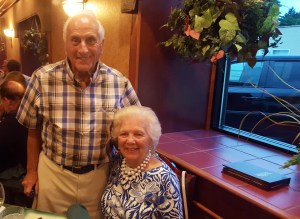 Just two weeks ago, we had dinner with Doug and Janet. He looks about 60-years old here, right?