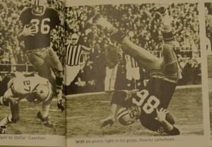Super Bowl I Boyd Dowler 3