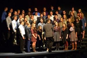 Choir shot with Alyssa Gruender