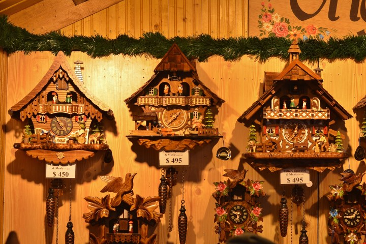 our cuckoo clocks