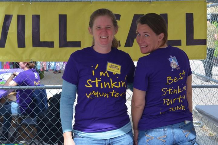 Best stinkin volunteers