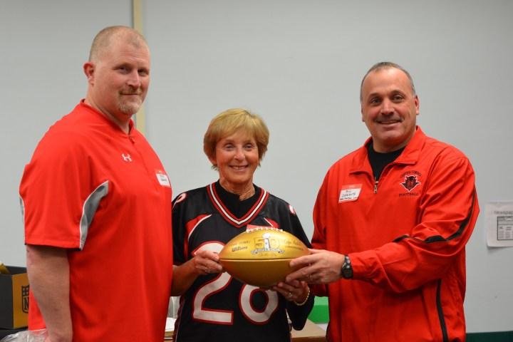 Steve Gironda, Mom and football coach