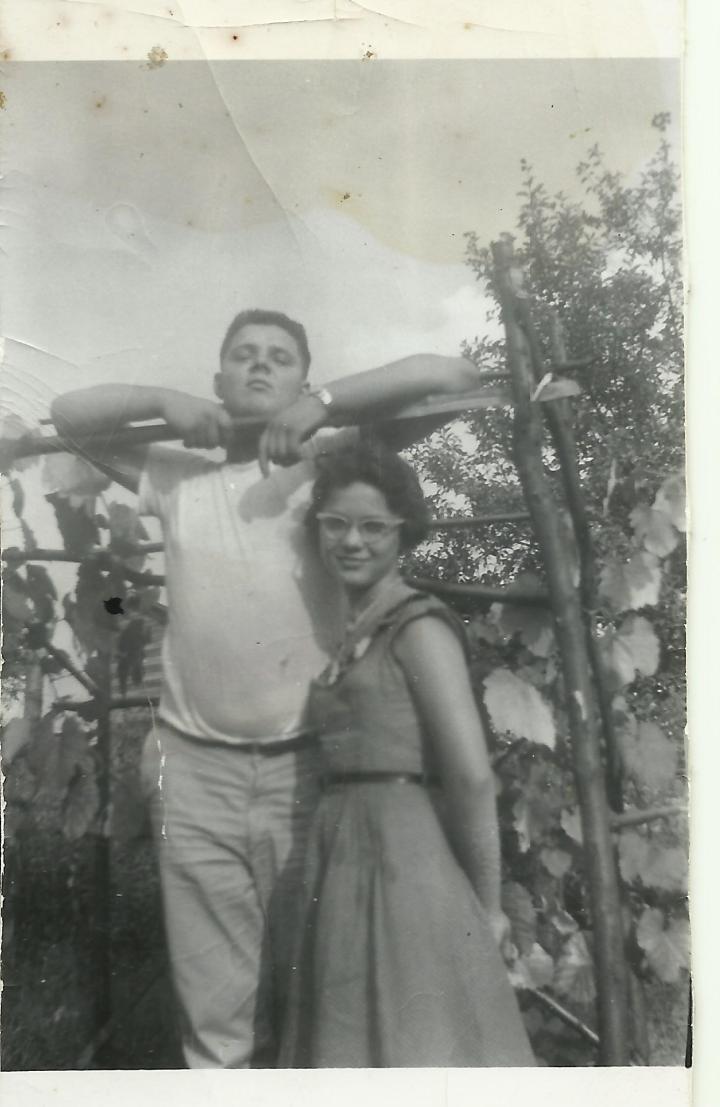 Dad and Aunt Martha