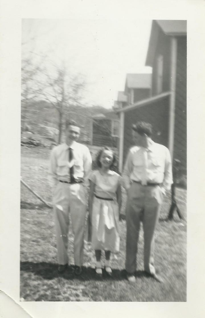 George, Martha, Ron Kostelnik