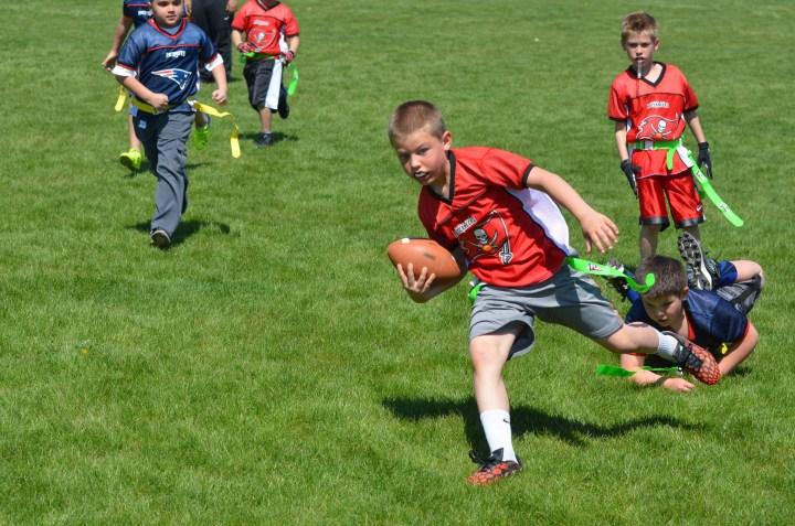 Ben's football game 154