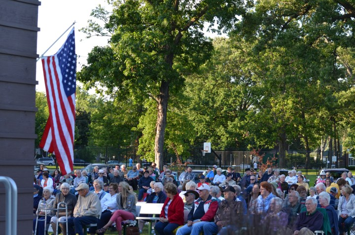 's Wonderful, 's Marvelous to hear band music in the park