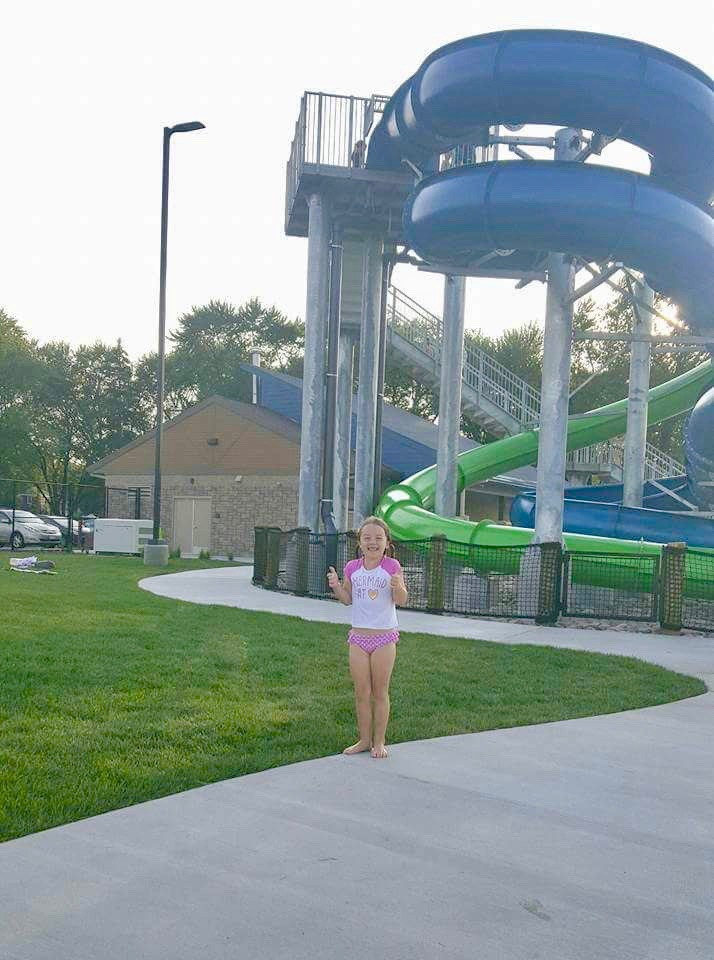 My favorite picture — The Erb Park Pool