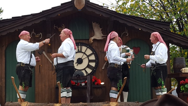 Oktoberfest and the human glockenspiel