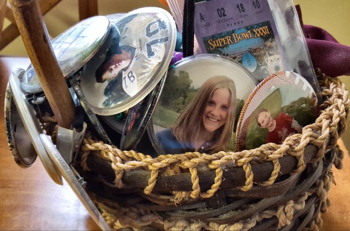 A basket full of memories