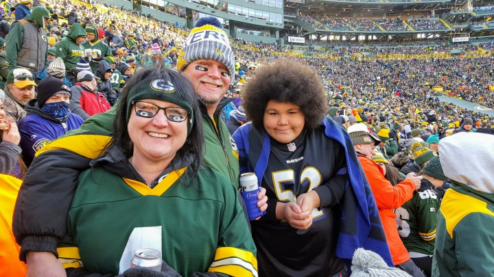 T'is the season for Lambeau pilgrims