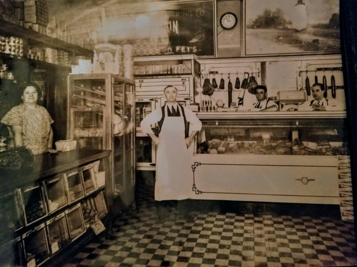 My grandfather's store